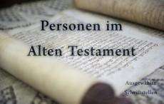 Personen im Alten Testament